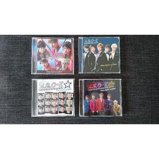 エービーシーズィー(A.B.C.-Z)の【CD4枚セット】Moonlight walker(ポップス/ロック(邦楽))