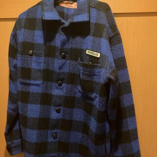 テンダーロイン(TENDERLOIN)のキムタク着用 テンダーロイン バッファロー ジャケット ブルー 青(ブルゾン)