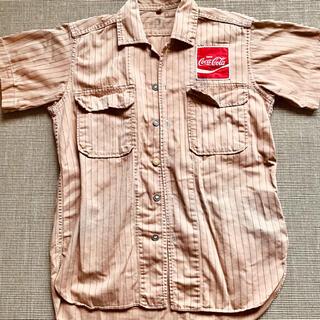 コカコーラ(コカ・コーラ)の希少⭐️ヴィンテージ コカコーラ シャツ 半袖(シャツ)