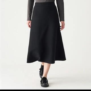 ムジルシリョウヒン(MUJI (無印良品))の未使用 無印 ニットスカート(ひざ丈スカート)
