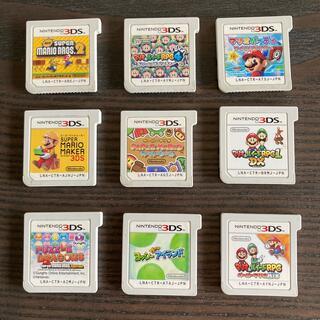 ニンテンドー3DS(ニンテンドー3DS)のDSソフトまとめ売り 15本 全て動作確認済み(携帯用ゲームソフト)
