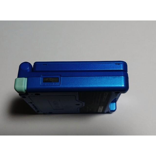 任天堂(ニンテンドウ)のGBA ゲームボーイアドバンス SP ロックマンエグゼ 限定モデルセット エンタメ/ホビーのゲームソフト/ゲーム機本体(携帯用ゲーム機本体)の商品写真