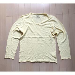 アバハウス(ABAHOUSE)のABAHOUSE COTTON LONG SLEEVE TEE SIZE 2(Tシャツ/カットソー(七分/長袖))
