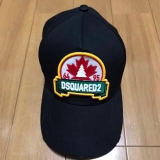 DSQUARED2 - DSquared(ディースクエアード)ブラック ベースボールキャップ 黒