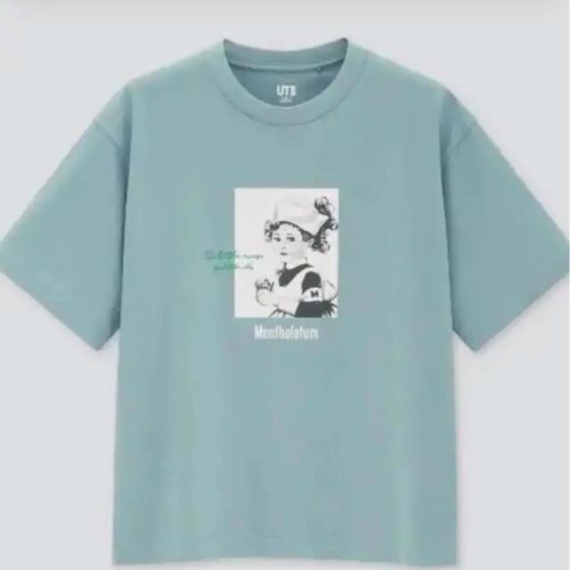 UNIQLO(ユニクロ)のユニクロ メンソレータム Lサイズ 明日発送可能 レディースのトップス(Tシャツ(半袖/袖なし))の商品写真