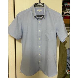 マッキントッシュフィロソフィー(MACKINTOSH PHILOSOPHY)のマッキントッシュフィロソフィー 半袖シャツ ブルー 38(シャツ)
