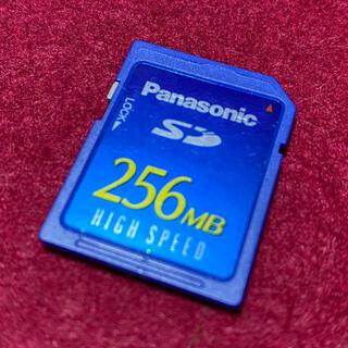 パナソニック(Panasonic)のSDカード 256MB(PC周辺機器)