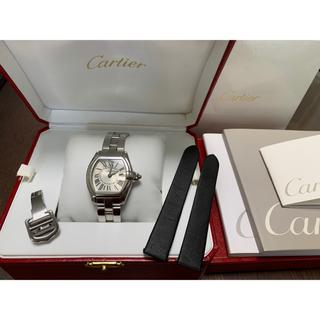 Cartier - 【替えベルト Dバックル付】Cartier ロードスターSM【電池交換済】