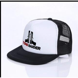トゥームレイダー(TOMB RAIDAR)帽子 サバゲ― キャップ型1黒(その他)