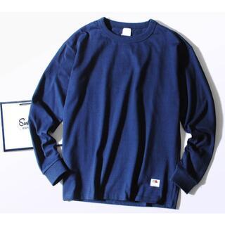 ロンハーマン(Ron Herman)のFruit Of The Loom 8.5oz厚手 Tシャツ ネイビーXL(Tシャツ/カットソー(七分/長袖))