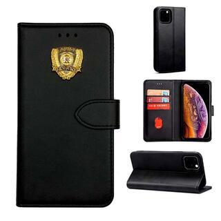警察iphone12/12Pro用横型ケース映画小道具 POLICE A127(小道具)