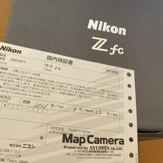 Nikon - Nikon Zfc 【期間限定値引き中(〜9/20)】