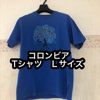 Columbia - 【レア柄】コロンビア Columbia 青色 Tシャツ Lサイズ