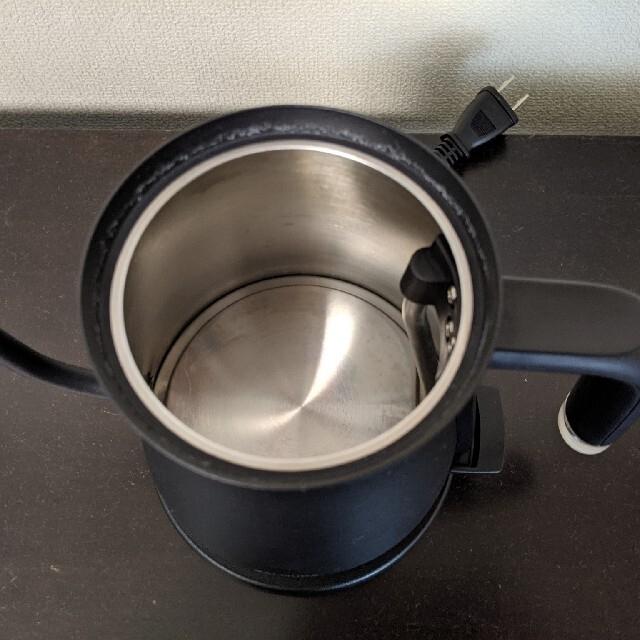 BALMUDA(バルミューダ)の【BALMUDA The Pot】バルミューダ電気ケトル・ブラック スマホ/家電/カメラの生活家電(電気ケトル)の商品写真