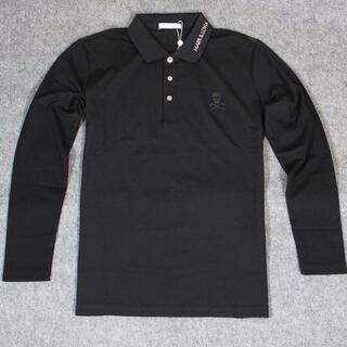 MARK&LONA - MARK&LONA(マーク&ロナ) ビッグロゴプリント ポロシャツ L