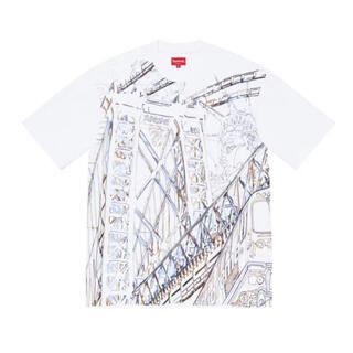 シュプリーム(Supreme)のSupreme Bridge Embroidered S/S Top L(Tシャツ/カットソー(半袖/袖なし))
