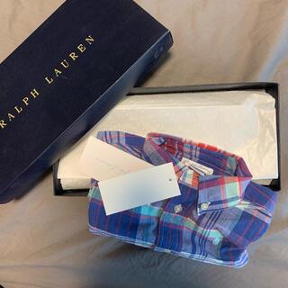 ラルフローレン(Ralph Lauren)のラルフローレン ベビー チェックシャツ 新品(シャツ/カットソー)