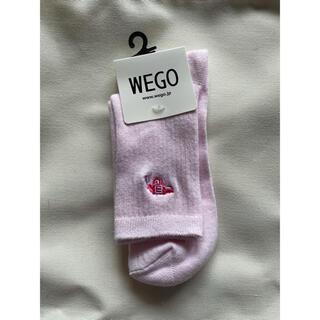 ウィゴー(WEGO)のピストル刺繍ソックス(ソックス)