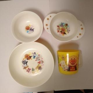 アンパンマン(アンパンマン)のアンパンマン キッズ食器セット 茶碗、スープ椀、コップ、皿(食器)