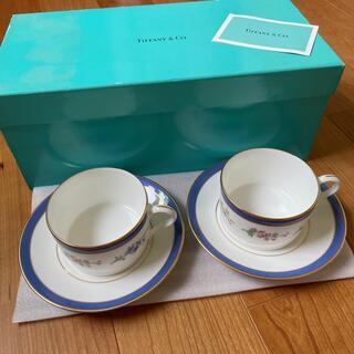 Tiffany & Co. - ティファニー フローラル カップ&ソーサー 2セット