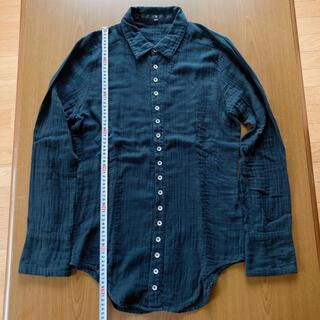 ノーアイディー(NO ID.)のノーアイディー ガーゼ素材多量ボタンダウンシャツ サイズ1(シャツ)
