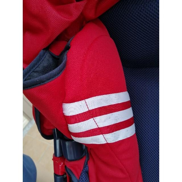 Aprica(アップリカ)のベビーカー アップリカ 赤 キッズ/ベビー/マタニティの外出/移動用品(ベビーカー/バギー)の商品写真