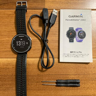 ガーミン(GARMIN)のGARMIN ガーミン  ForeAthlete230J(トレーニング用品)
