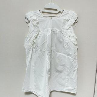 トッコ(tocco)のtoccocloset 白レースブラウス(シャツ/ブラウス(半袖/袖なし))