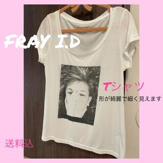 フレイアイディー(FRAY I.D)のFRAY I.D フレイアイディ Tシャツ ロゴ プリント(Tシャツ(半袖/袖なし))