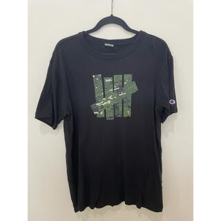 UNDEFEATED - UNDEFEATED ×  チャンピオン コラボ Tシャツ アンディフィーテッド