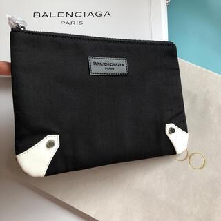 Balenciaga - レア バレンシアガ ノベルティ クラッチポーチ ブラック 箱付き