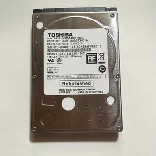 東芝 - 東芝 2.5インチ HDD 1TB 9.5mm厚