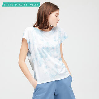 ユニクロ(UNIQLO)のUNIQLO ユニクロ ドライクルーネック UT 半袖 Tシャツ 半袖シャツ(Tシャツ(半袖/袖なし))