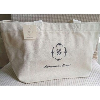 サマンサモスモス(SM2)の新品 サマンサモスモス  オーガニックコットン トートバッグ(トートバッグ)