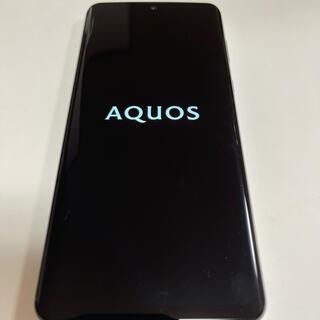 AQUOS - AQUOS zero2 SH-01Mホワイト SIMロック解除済 美品