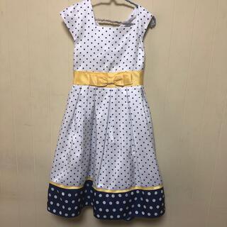 コストコ(コストコ)の子供ワンピース ドット  150サイズ相当(ドレス/フォーマル)