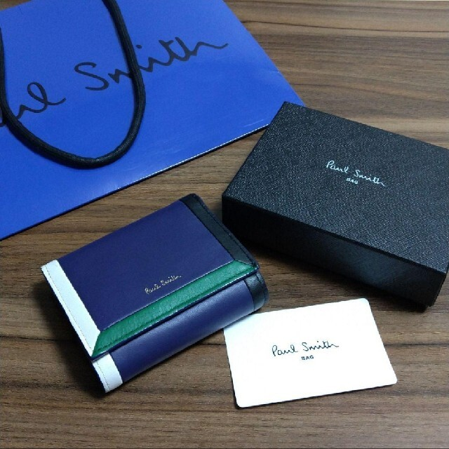 Paul Smith(ポールスミス)のポール・スミス Paul Smith ミニ 財布 三つ折り レディースのファッション小物(財布)の商品写真
