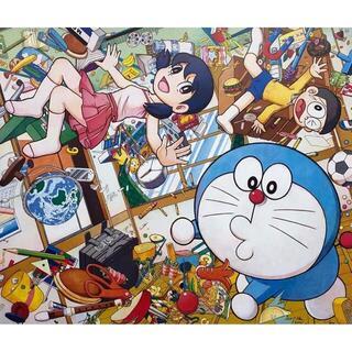 Mr.×ドラえもん ポスター「重力ちょうせつ機」(絵画/タペストリー)