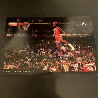 ナイキ(NIKE)のNIKE AIR JORDAN 3 ポストカード ナイキ エア ジョーダン(バスケットボール)