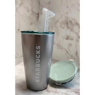スターバックスコーヒー(Starbucks Coffee)の【新品✧︎未使用】Starbucks ストラップカップシェイプステンレスボトル(水筒)