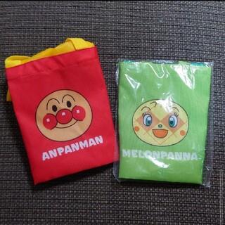 アンパンマン(アンパンマン)の新品未使用 アンパンマン メロンパンナちゃん ランチバッグセット(弁当用品)