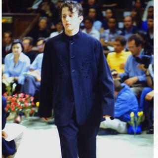 ヨウジヤマモト(Yohji Yamamoto)のYohji Yamamoto 96ss 花と少年期 カットワークジャケット(テーラードジャケット)