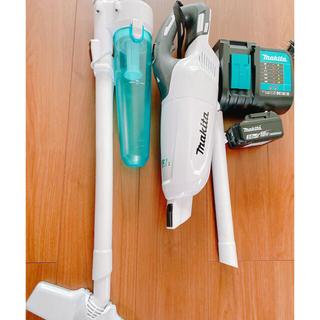 マキタ(Makita)のマキタ 掃除機 バッテリー 充電器セット(掃除機)