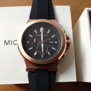 マイケルコース(Michael Kors)の美品 マイケルコース 腕時計 mk8184  ピンクゴールド ユニセックス(腕時計(アナログ))