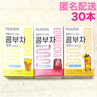 最安値 TEAZEN ティーゼン コンブチャ レモン ベリー ゆず グク BTS(ダイエット食品)