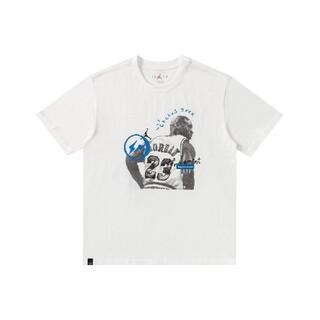 """エアジョーダン トラヴィス スコット フラグメント Tシャツ """"ホワイト""""(Tシャツ/カットソー(半袖/袖なし))"""
