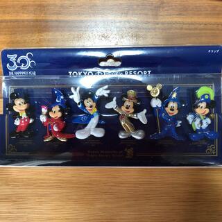 ディズニー(Disney)のTDR ディズニー ミッキー 30周年 クリップセット 6個入り(その他)