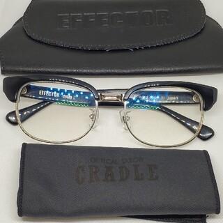 エフェクター(EFFECTOR)のEFFECTOR眼鏡 エフェクター メガネ delay 2 BK ディレイ ツー(サングラス/メガネ)