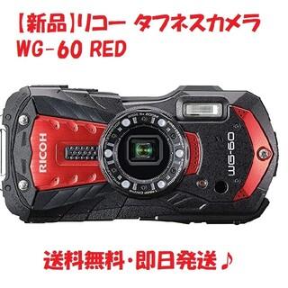 リコー(RICOH)の【新品】リコー タフネスカメラ WG-60 RED(コンパクトデジタルカメラ)