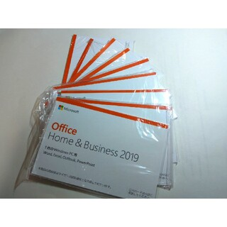 Microsoft - Office Home and Business 2019 10枚